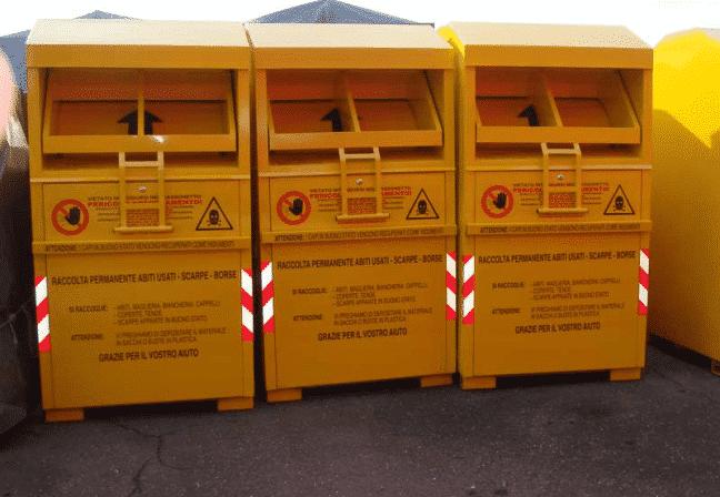 sale retailer c1c5d 68caf Cassonetti Gialli Raccolta Abiti usati a Roma | Punti di ...